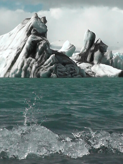 Is - video painting by Jakki Carey